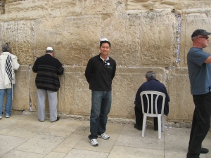 Joe at the Western Wall