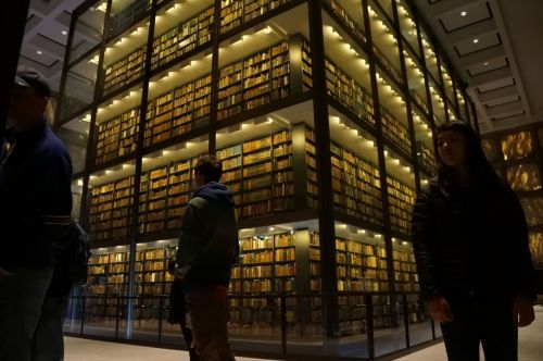 Yale library of ancient texts.